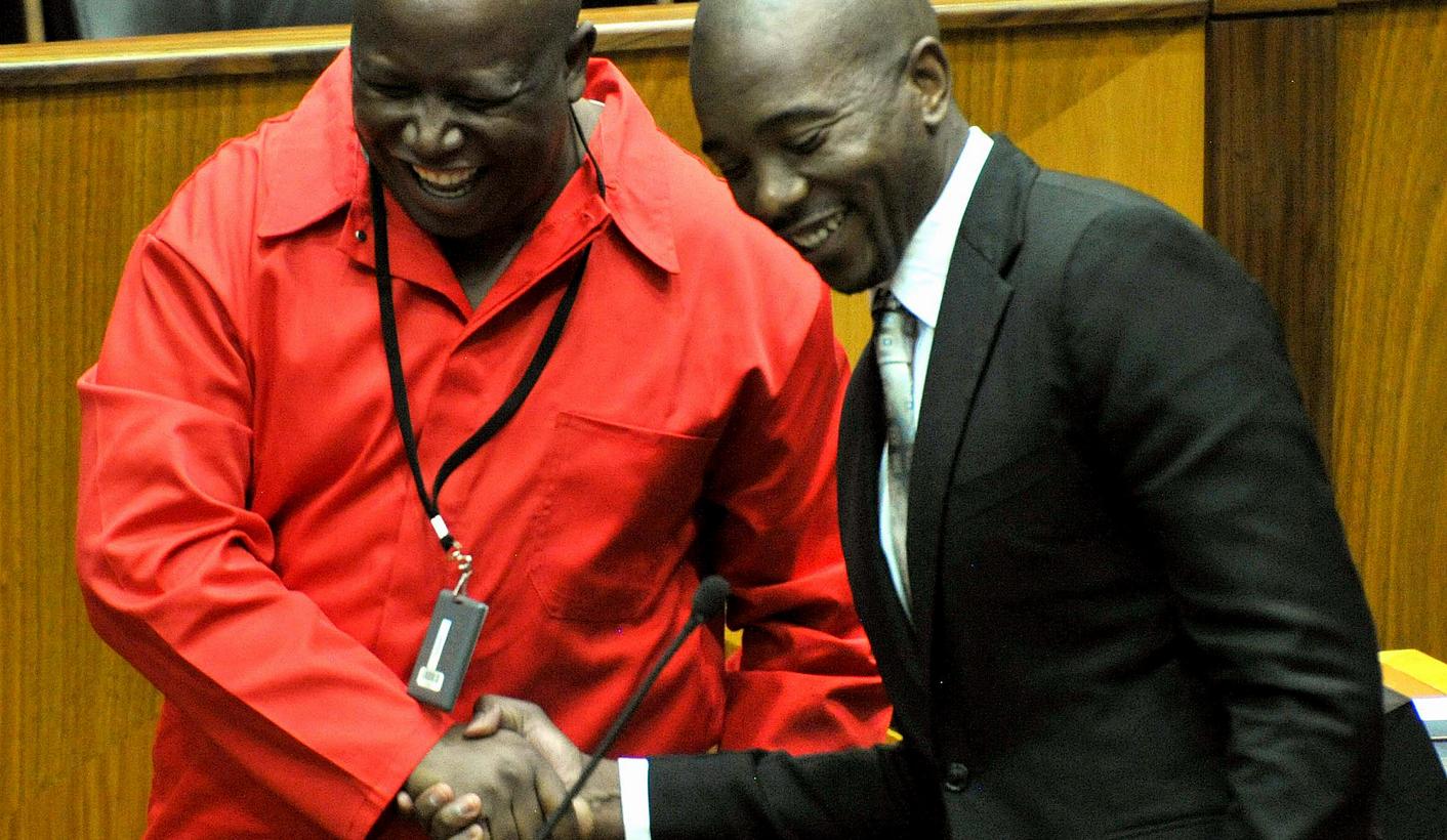 Juju fires shots at Cyril: Marikana proudly brought to you' by Ramaphosa