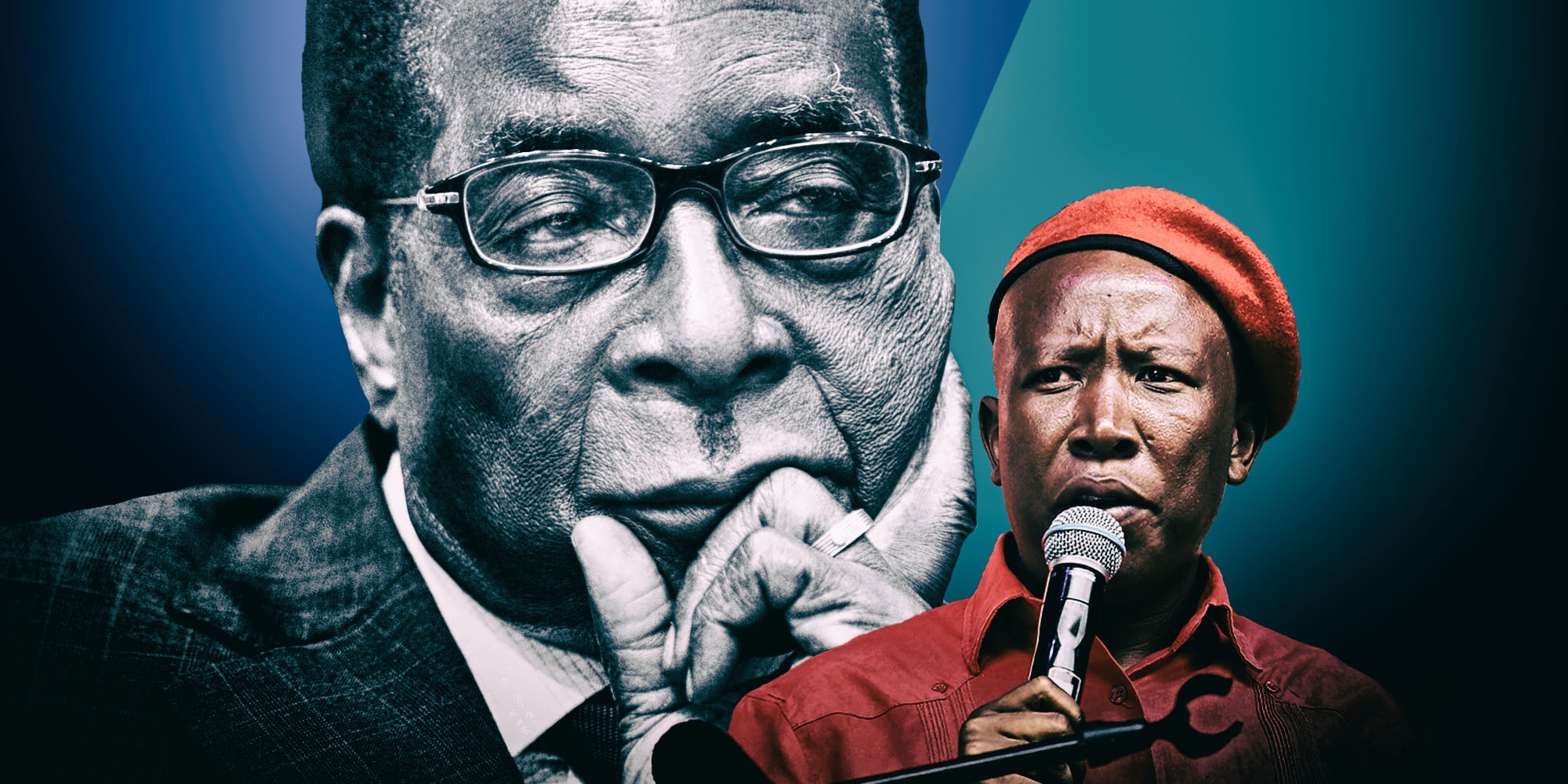 Malema's Mugabe closing gambit