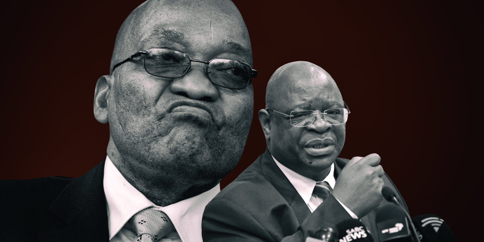 Zuma threatens to defy the Constitution he twice swore...