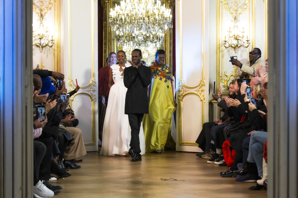 MAVERICK LIFE: FASHION: Into Paris couture fashion week with Cameroonian designer Imane Ayissi