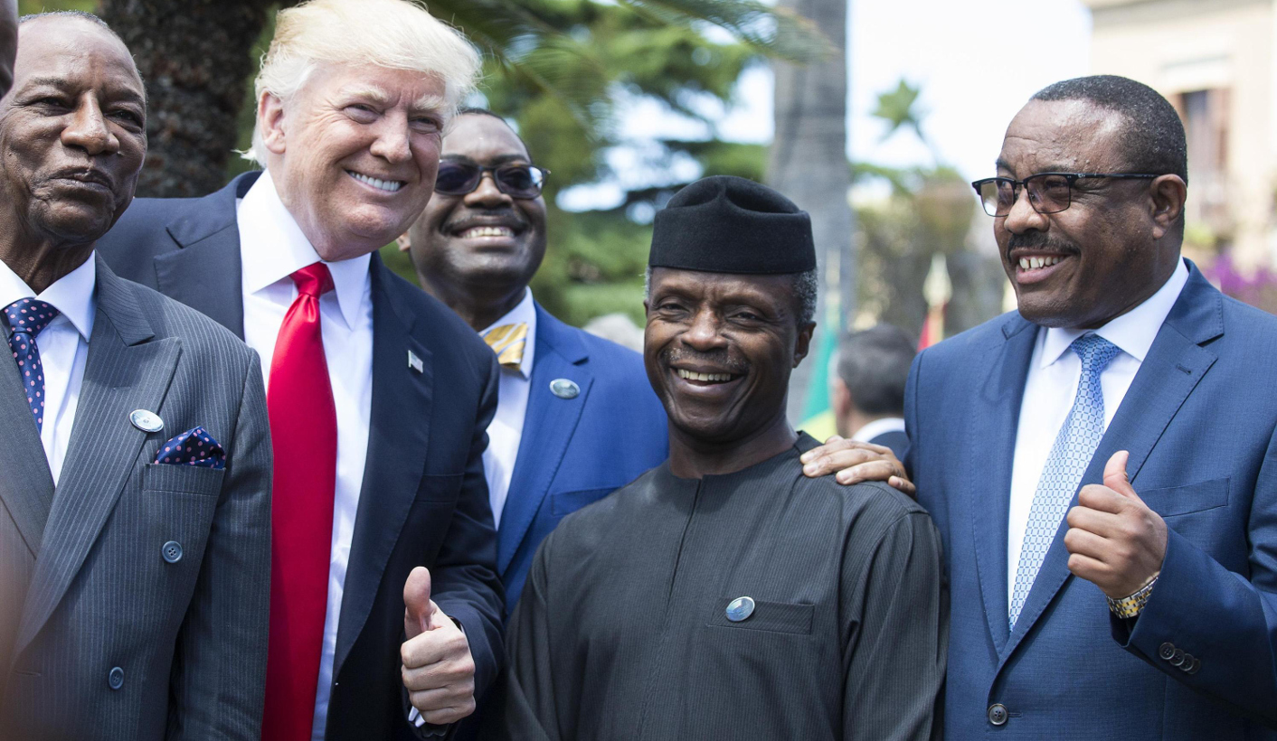 Image result for trump in africa