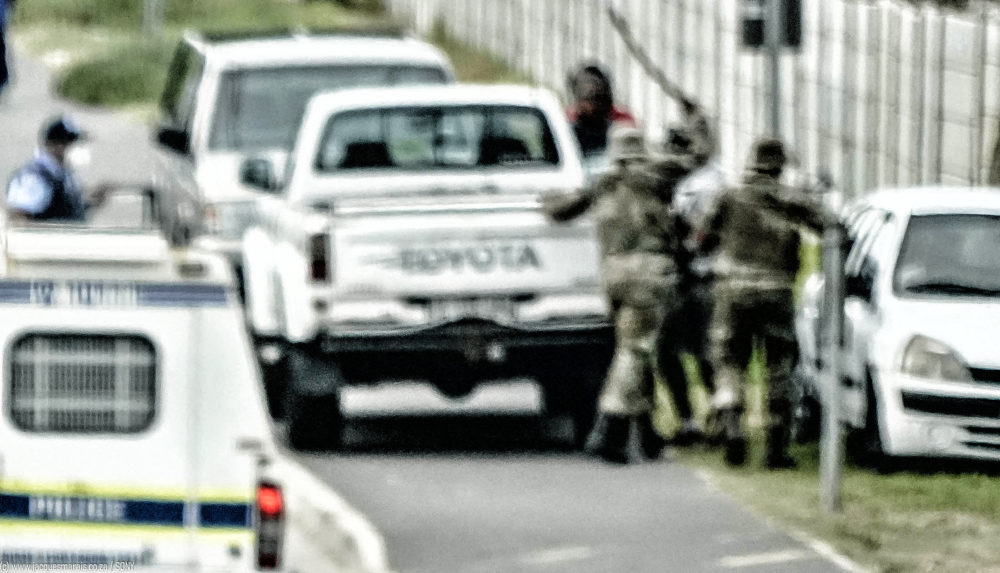 Covid-19 Personal Experience: SANDF and police's violent Easter gift to Masiphumelele