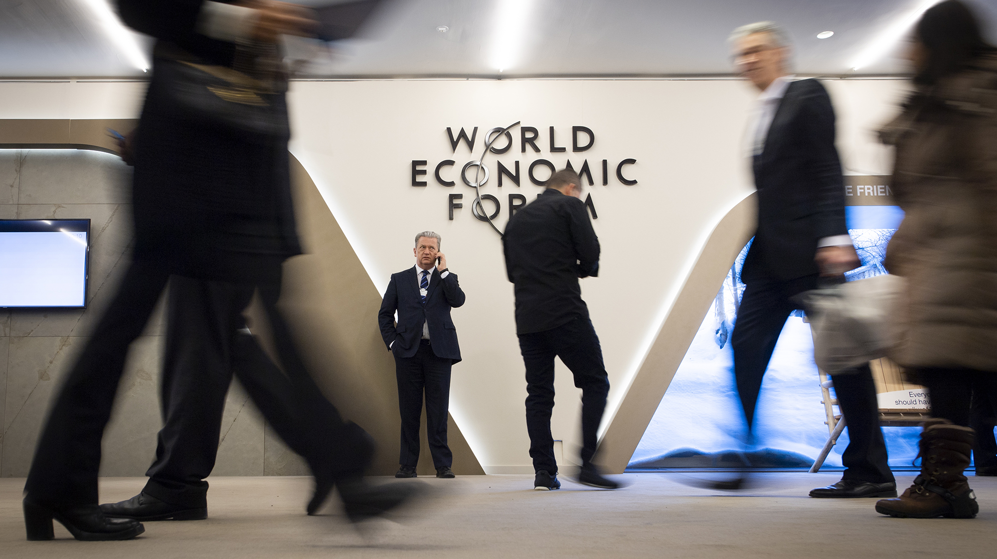 RIGHT OF REPLY: Davos is emerging as a space to engage with urgent issues, not just for socialising