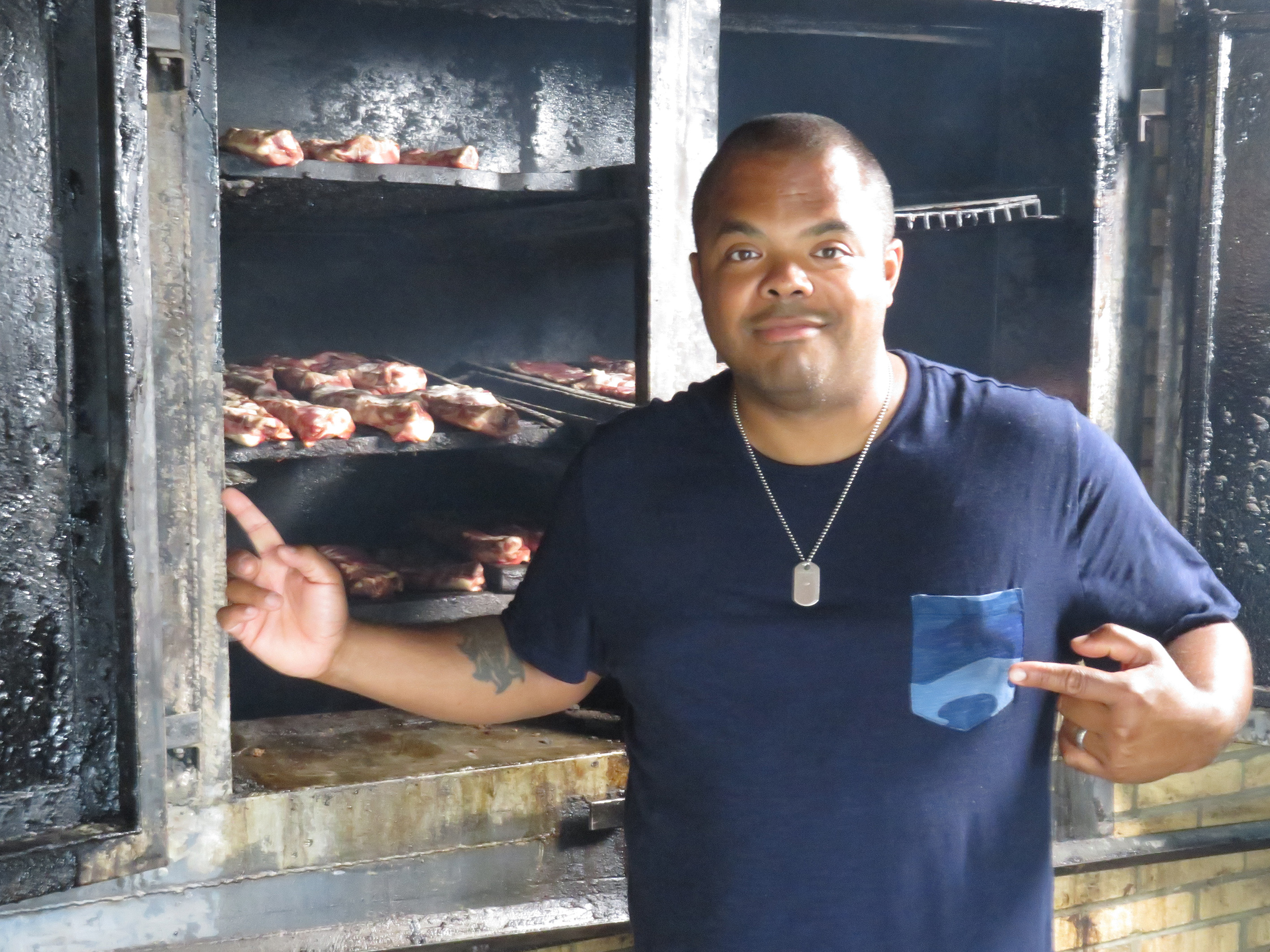 Roger Mooking's primal connections
