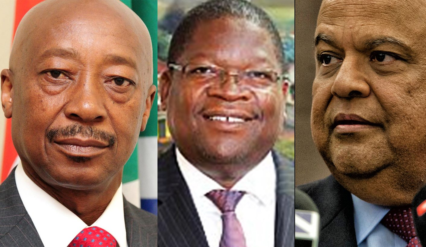 Moyane accused of lying under oath about Gordhan