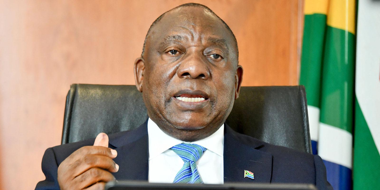 President Cyril Ramaphosa in Covid-19 self-quarantine