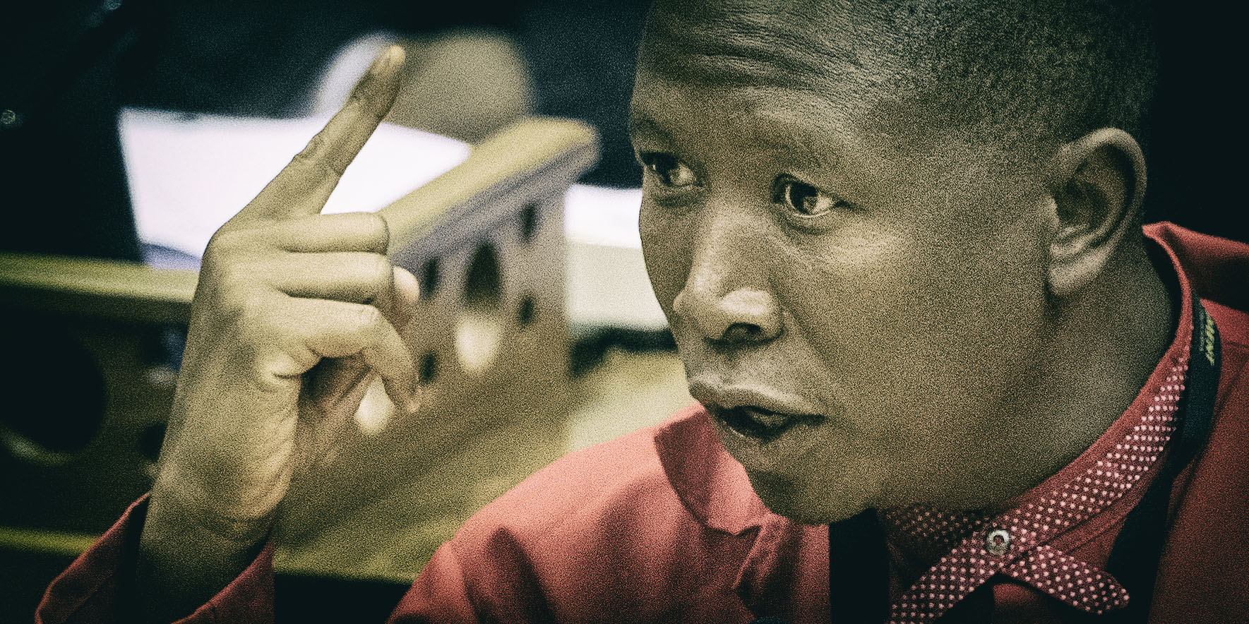 Fisticuffs as Malema can't ditch VBS — while the ANC plays nice
