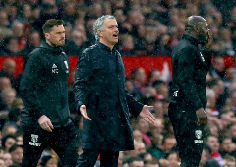Mourinho admits top four by end of year is improbable