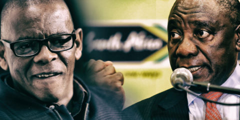 ANC vs ANC: Ramaphosa and Magashule contradict each other on Reserve Bank nationalisation