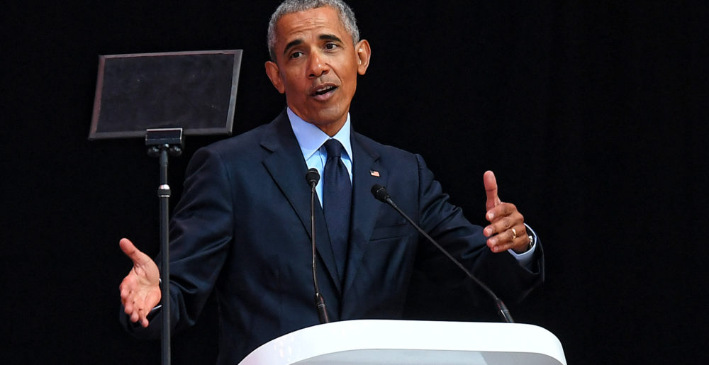 Obama's Speech at the 2018 Nelson Mandela Annual Lecture | Daily Maverick