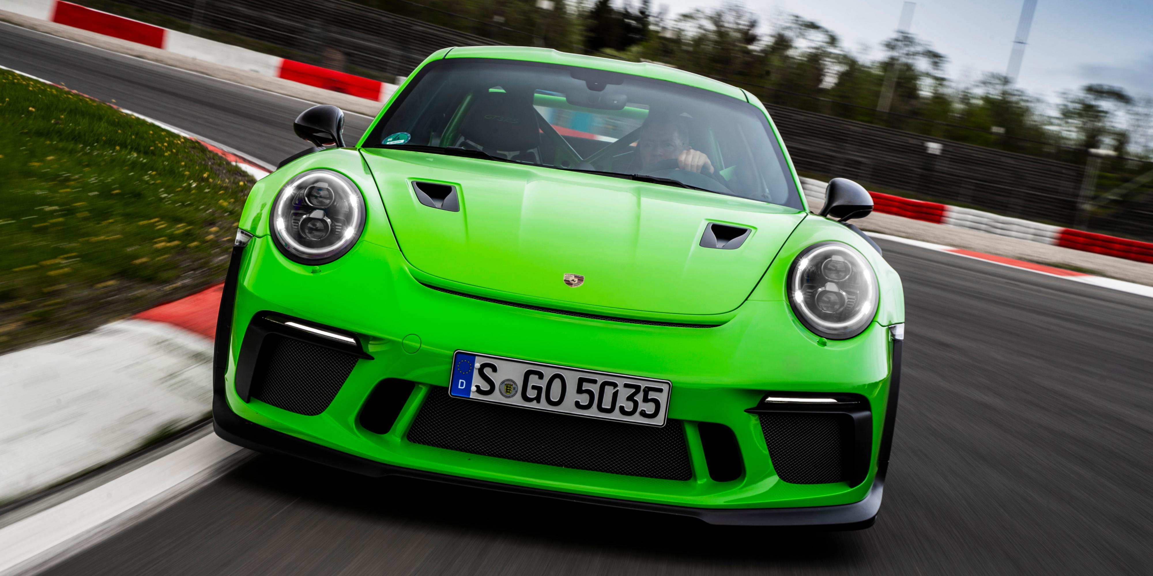 Porsche 911 Gt3 Rs The Sound Of Violence