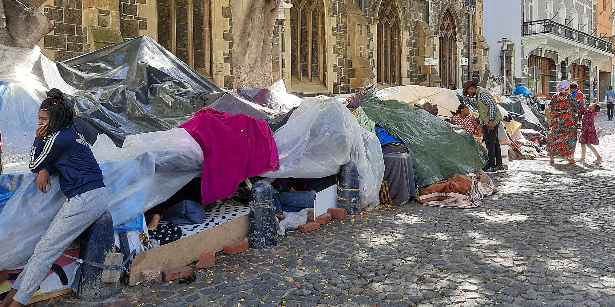 GREENMARKET SQUARE CRISIS: 'We have nowhere to go': Cape Town refugees fear the worst after court grants interdict