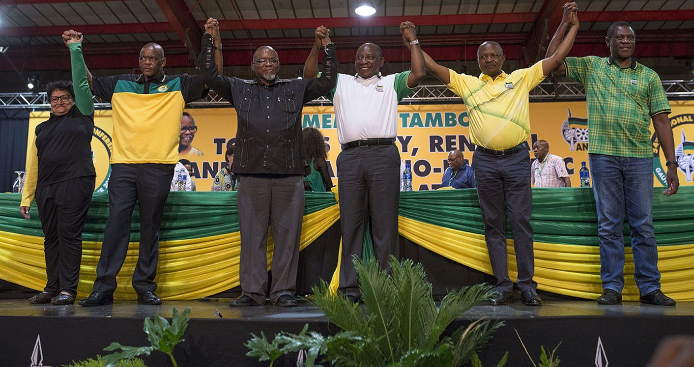ANCdecides2017: Meet the ANC's new Top Six