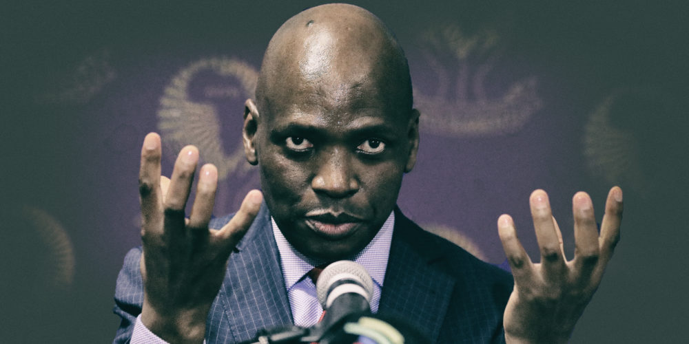 The ego has landed: Hlaudi Motsoeneng, King of the Capturers, lands at Zondo