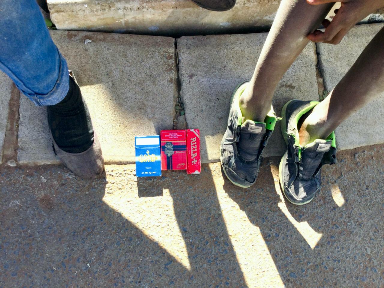 Schoolchildren sell cigarettes to help parents make ends meet - Daily Maverick