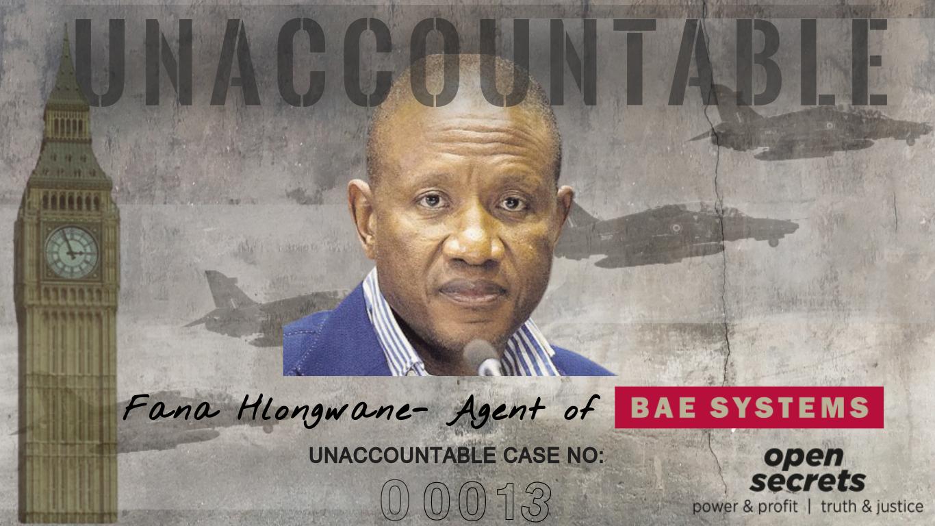 Fana Hlongwane – Agent of BAE Systems