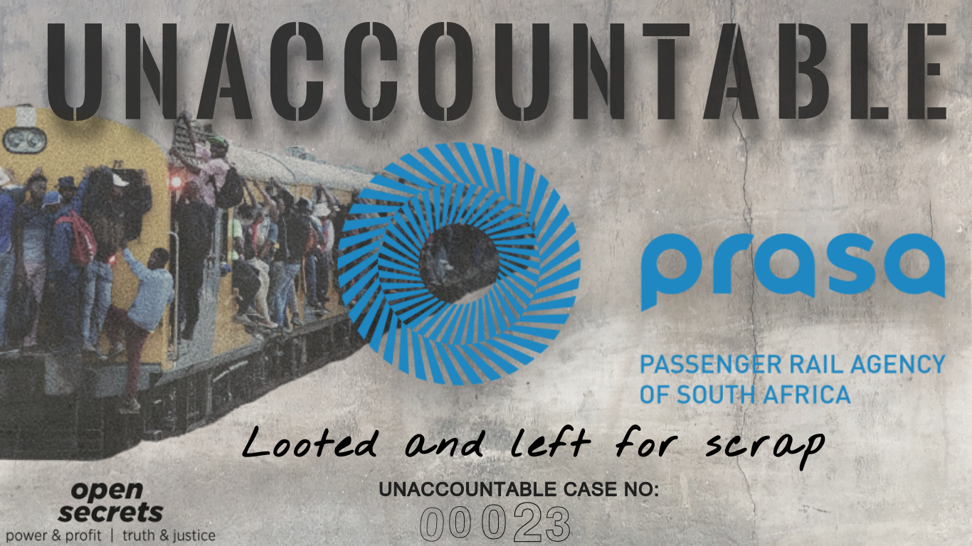 UNACCOUNTABLE #23: How Prasa was looted and left for scrap