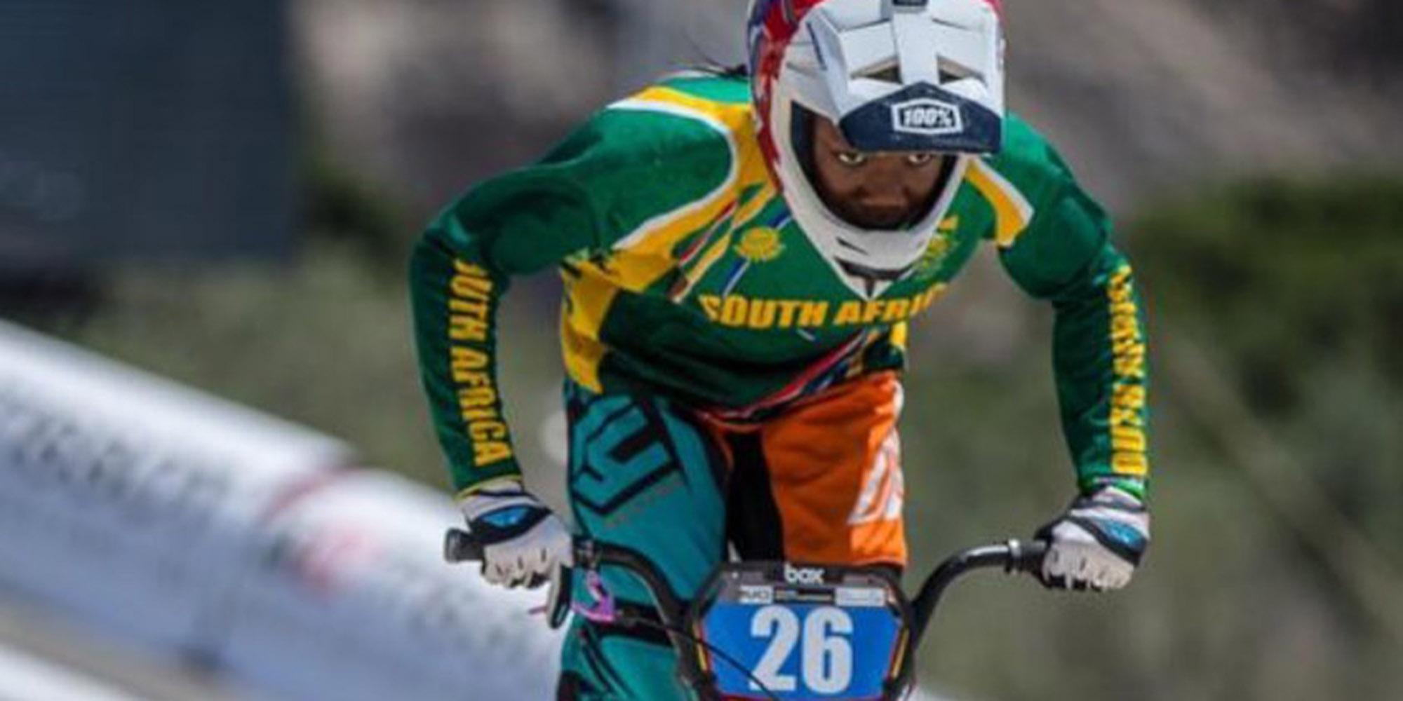Born to ride: Meet the future of BMX, Miyanda Maseti