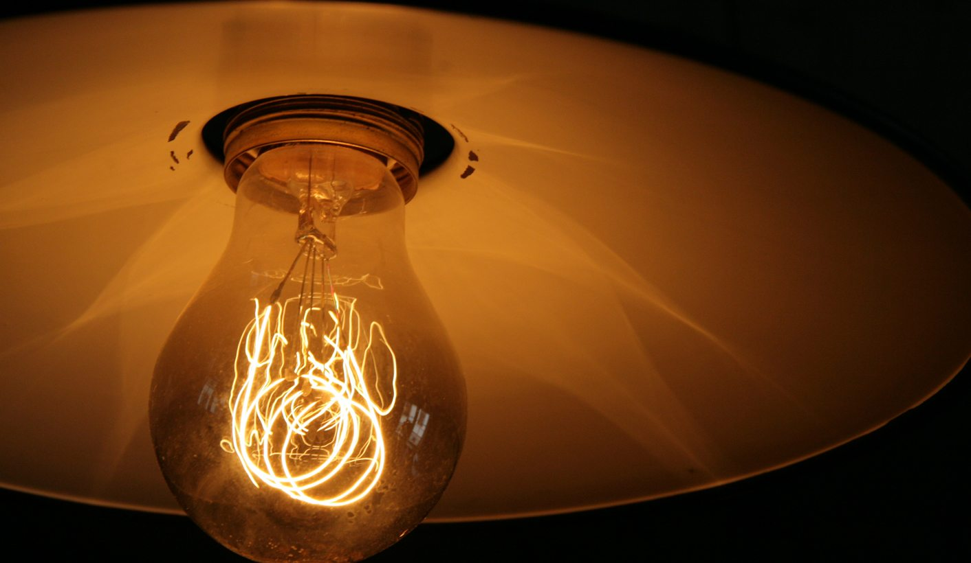 To regulate or deregulate the lighting industry, that i