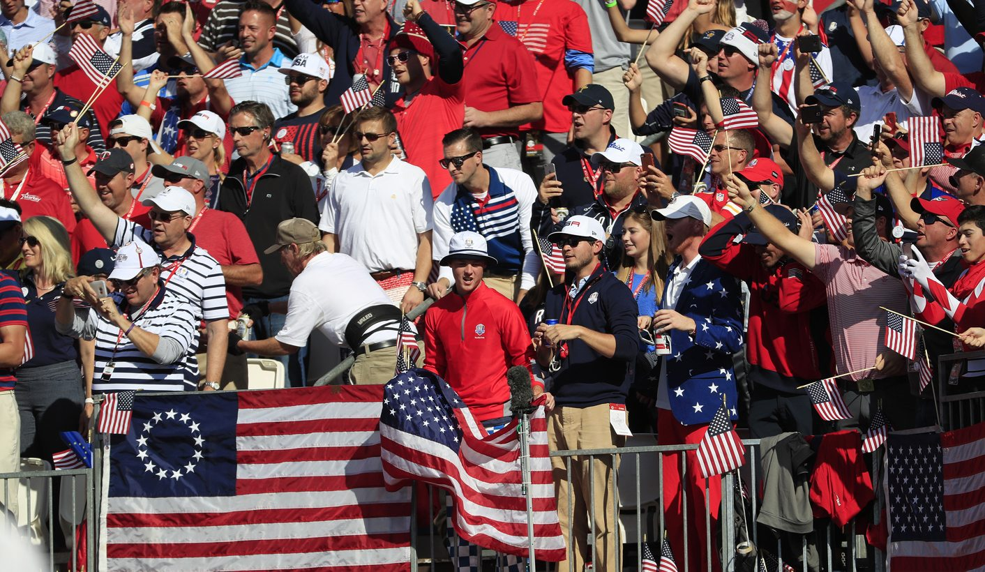 6a79cc6d96d Ryder Cup  What makes American golf fans so distinctly...