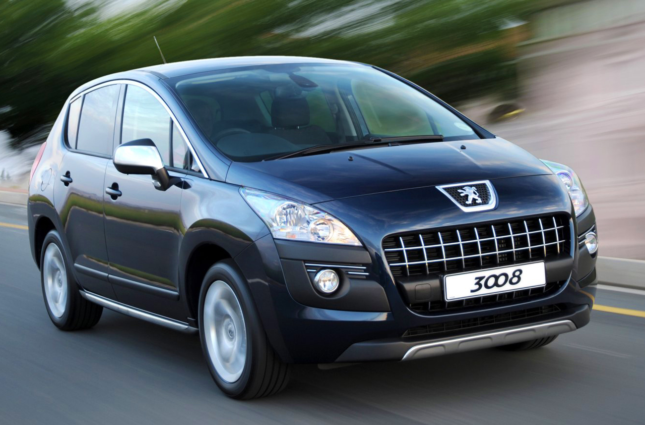 Peugeot 3008 1 6 AT: Crossing over in style