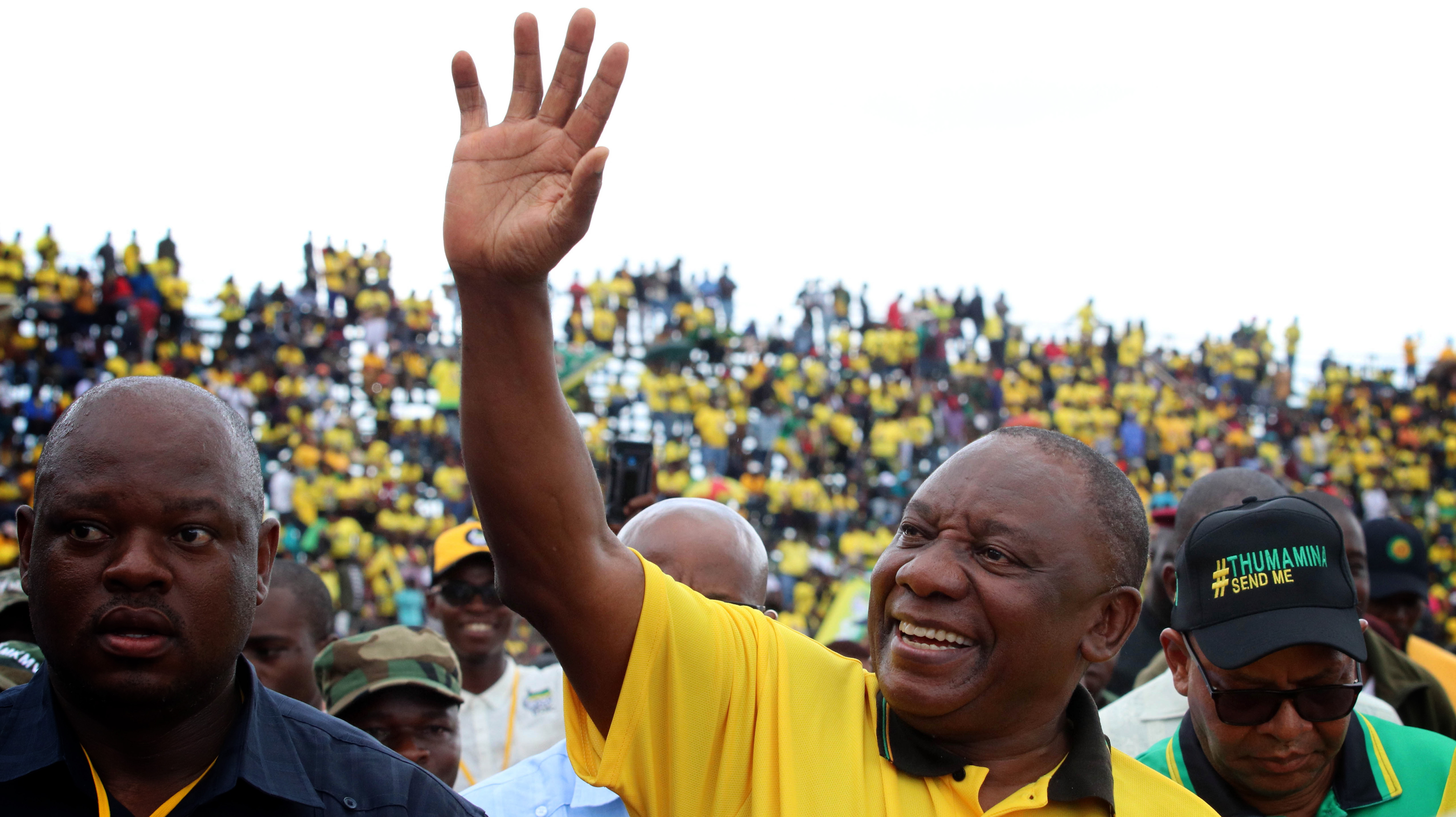 Image result for ANC WINNING 2019 ELECTIONS