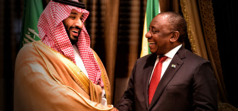 ANALYSIS: As Saudi Arabia's diplomatic crisis worsens, SA remains silent - because of the Denel deal, critics claim