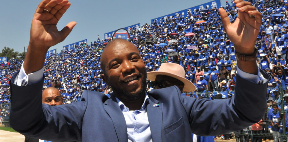 FEDERAL COUNCIL: Maimane: 'DA must attract more black South Africans'