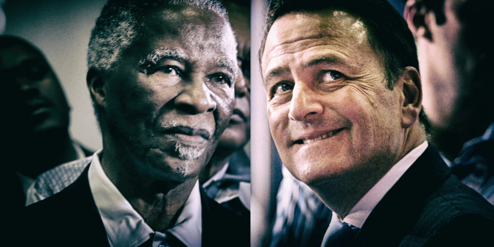 39197abf66670 Back to the future: Tony Leon and Thabo Mbeki on the campaign trail