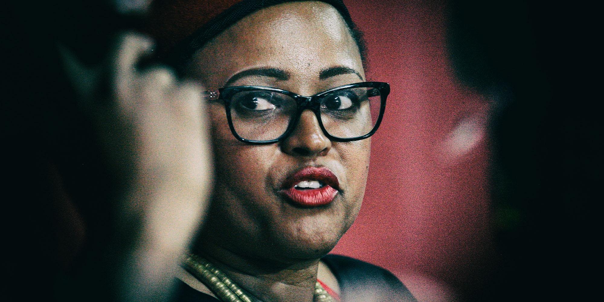 The political trajectory of EFF Gauteng leader Mandisa Mashego remains uncertain - Daily Maverick