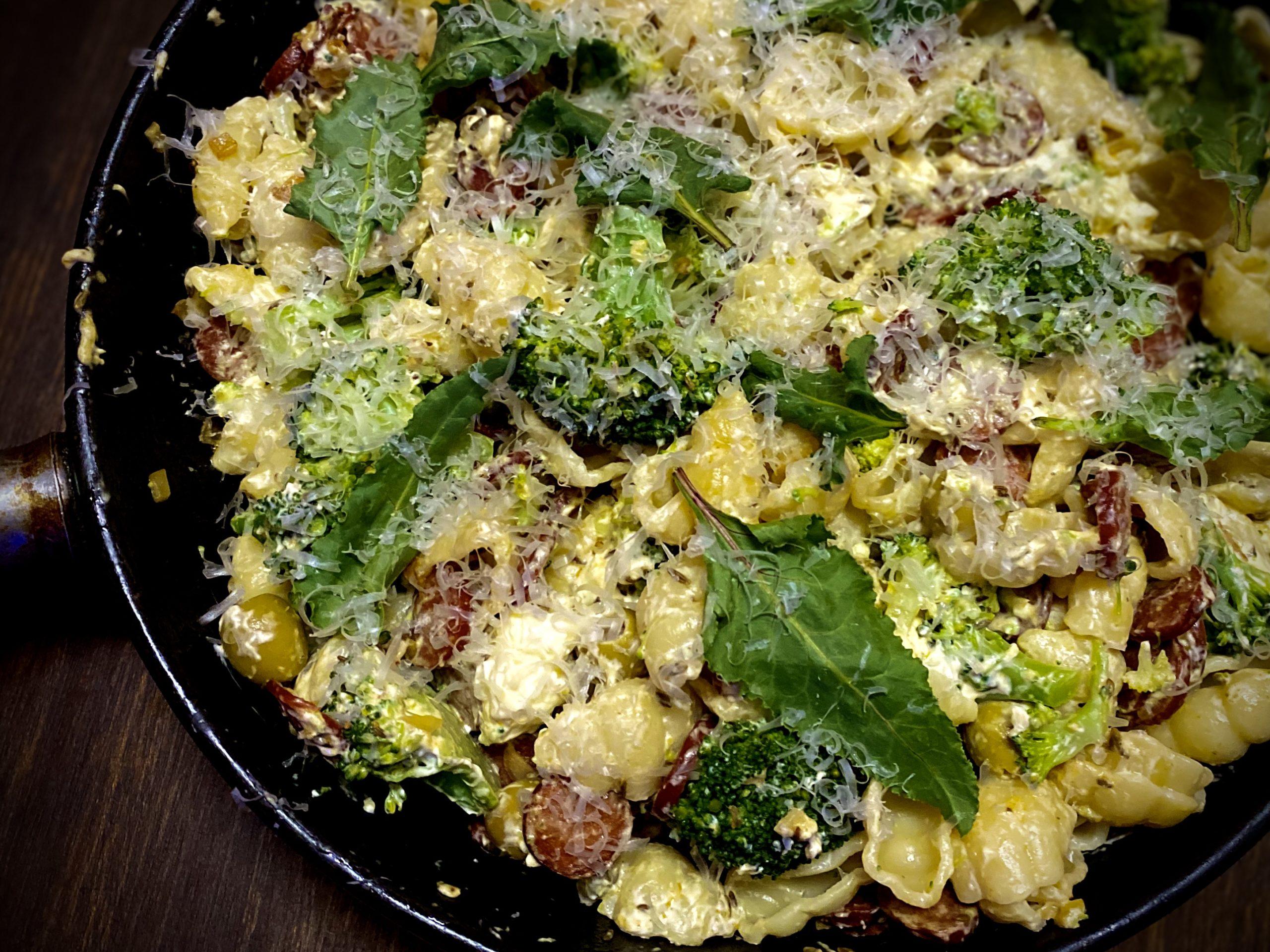 TGIFOOD: Lockdown Recipe of the Day: Chorizo, fennel seed and broccoli pasta