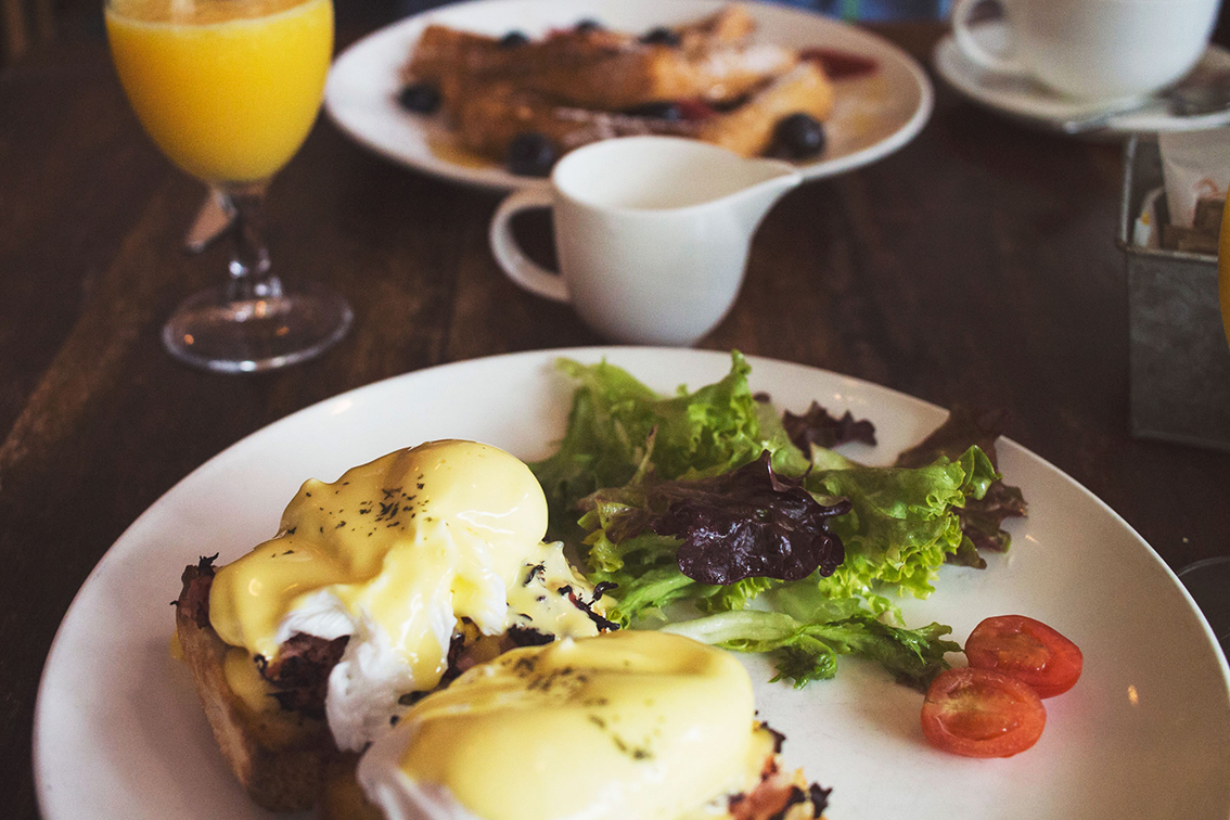 EGGS BENEDICT: Lemuel's Benediction: The story behind a brunch icon