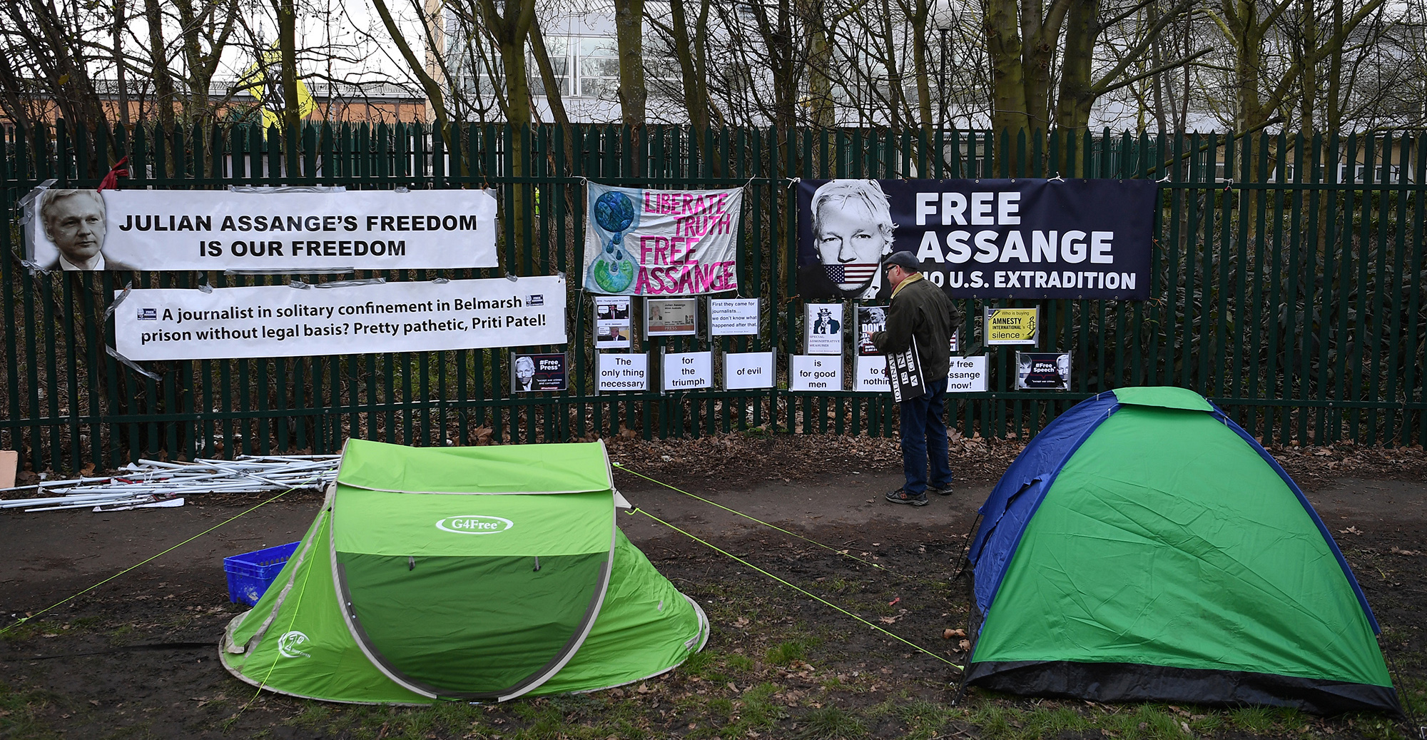 DECLASSIFIED UK: At risk from coronavirus, Julian Assange is one of just two inmates in Belmarsh maximum-security prison held for skipping bail