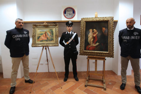 Nazi looted Renoir returned to owner's granddaughter