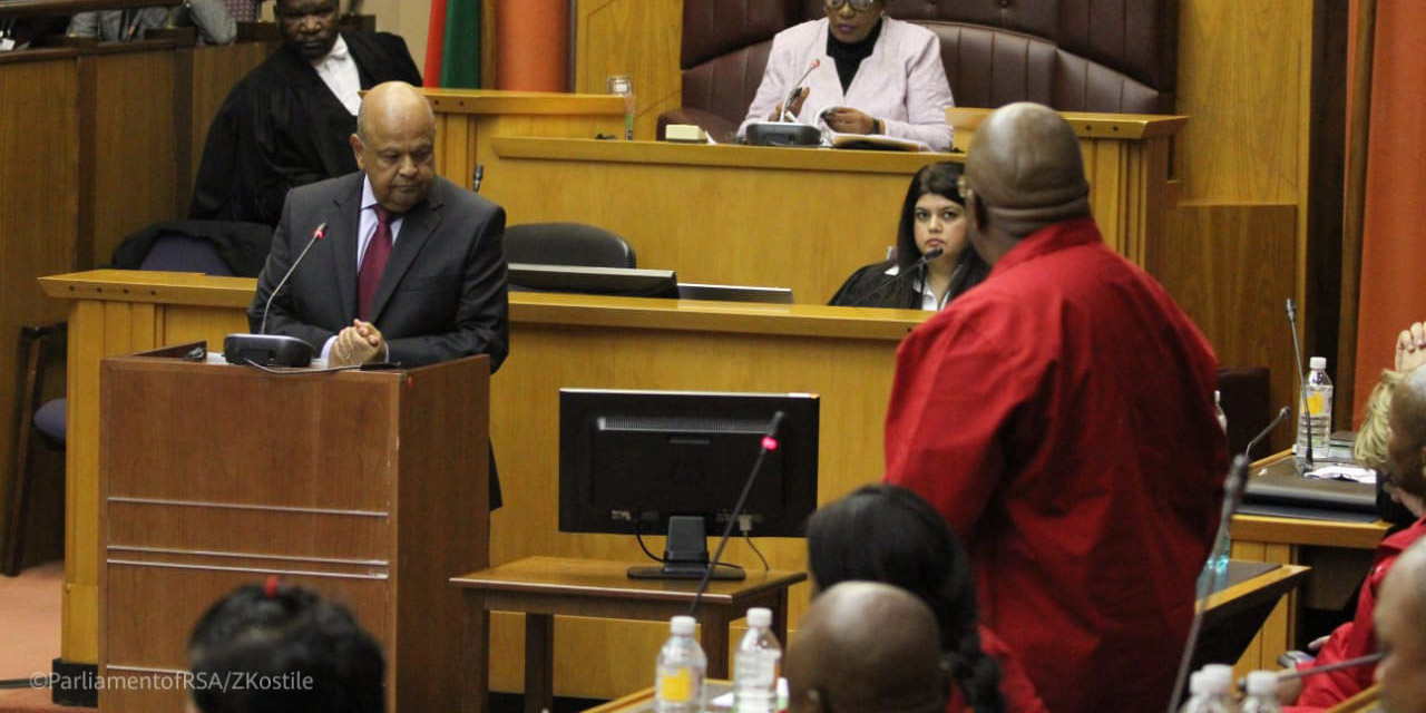 PARLIAMENTARY NOTEBOOK: EFF's 'Fascist Populism' trumped by rare cross-party unity