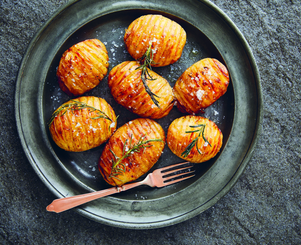 TGIFOOD: Lockdown Recipe of the Day: Rosemary Hasselbacks