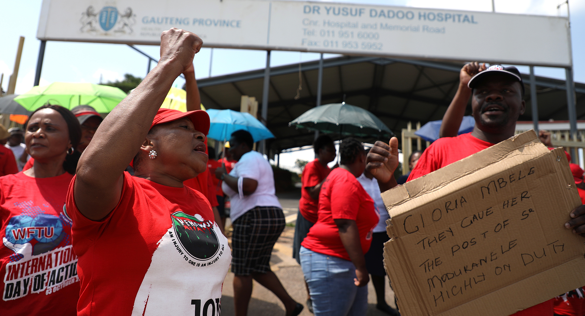 Public sector unions ready to march , litigate against z ...