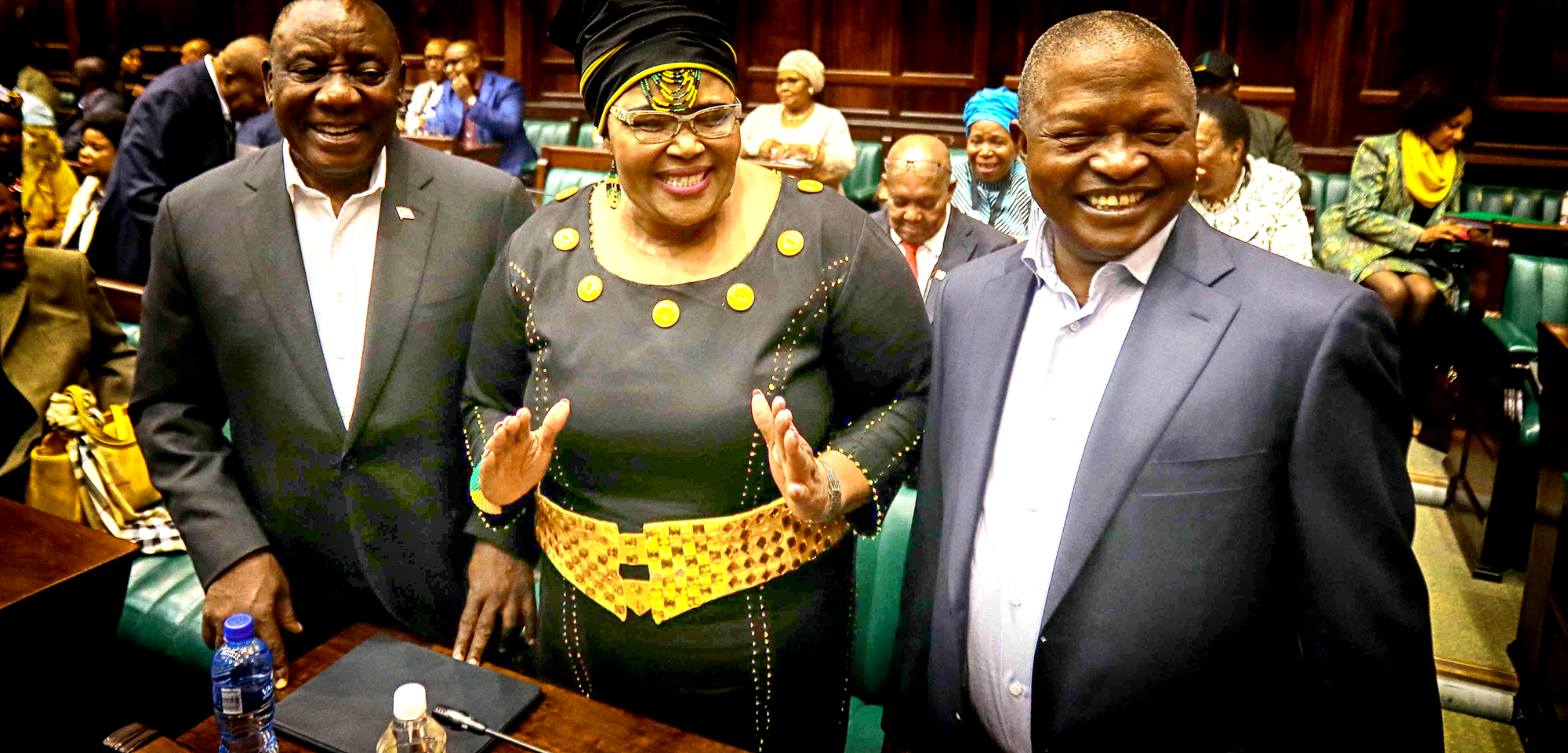 The day Mabuza shocked the nation, releasing a torrent of questions into the political wilderness with preciou