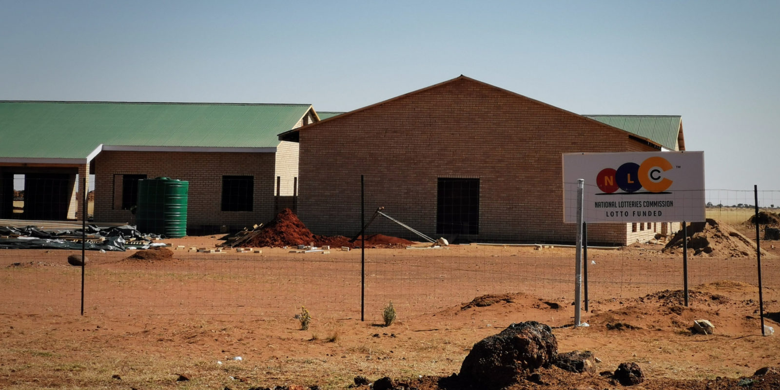 Lotto Money: Kuruman's unfinished R23m old age home