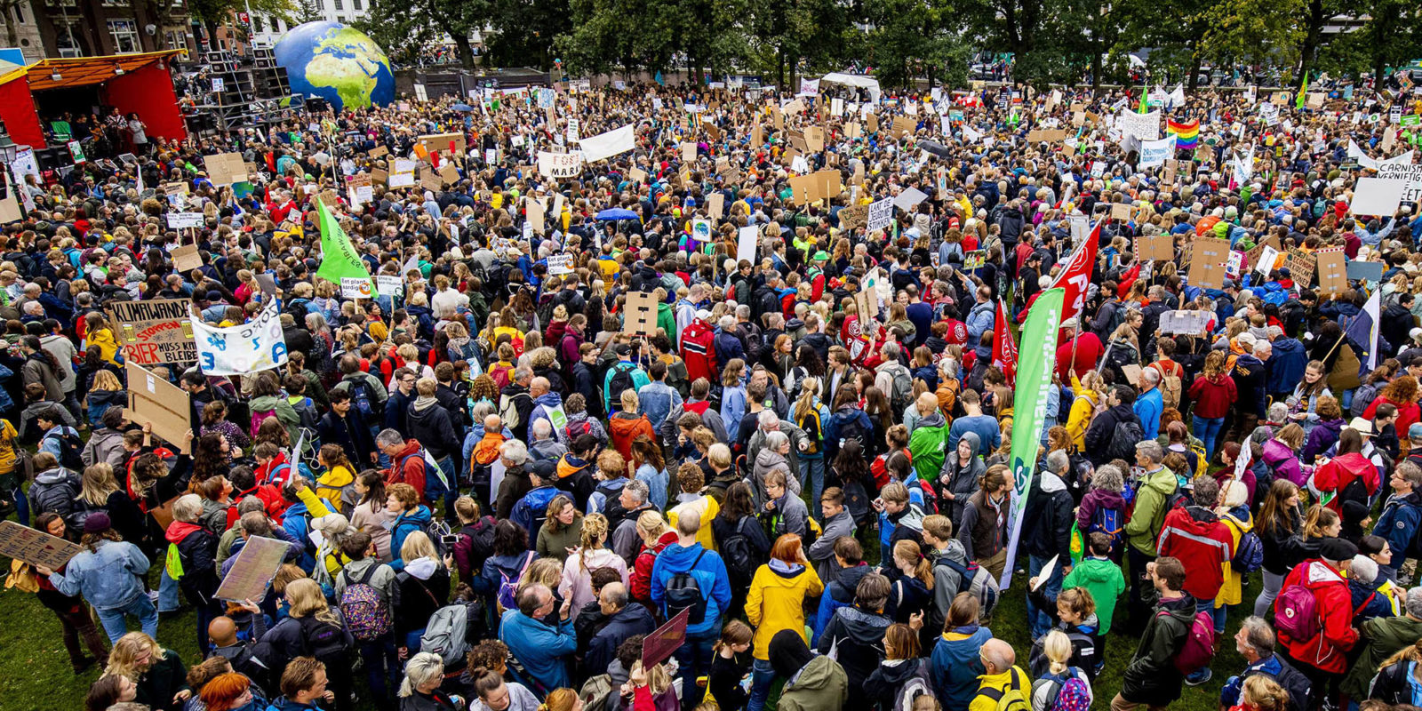A Climate Change: An unstoppable movement takes hold