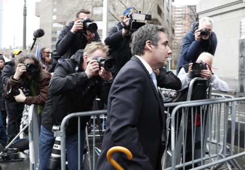 Trump 'fixer' Michael Cohen now the target of prosecutors