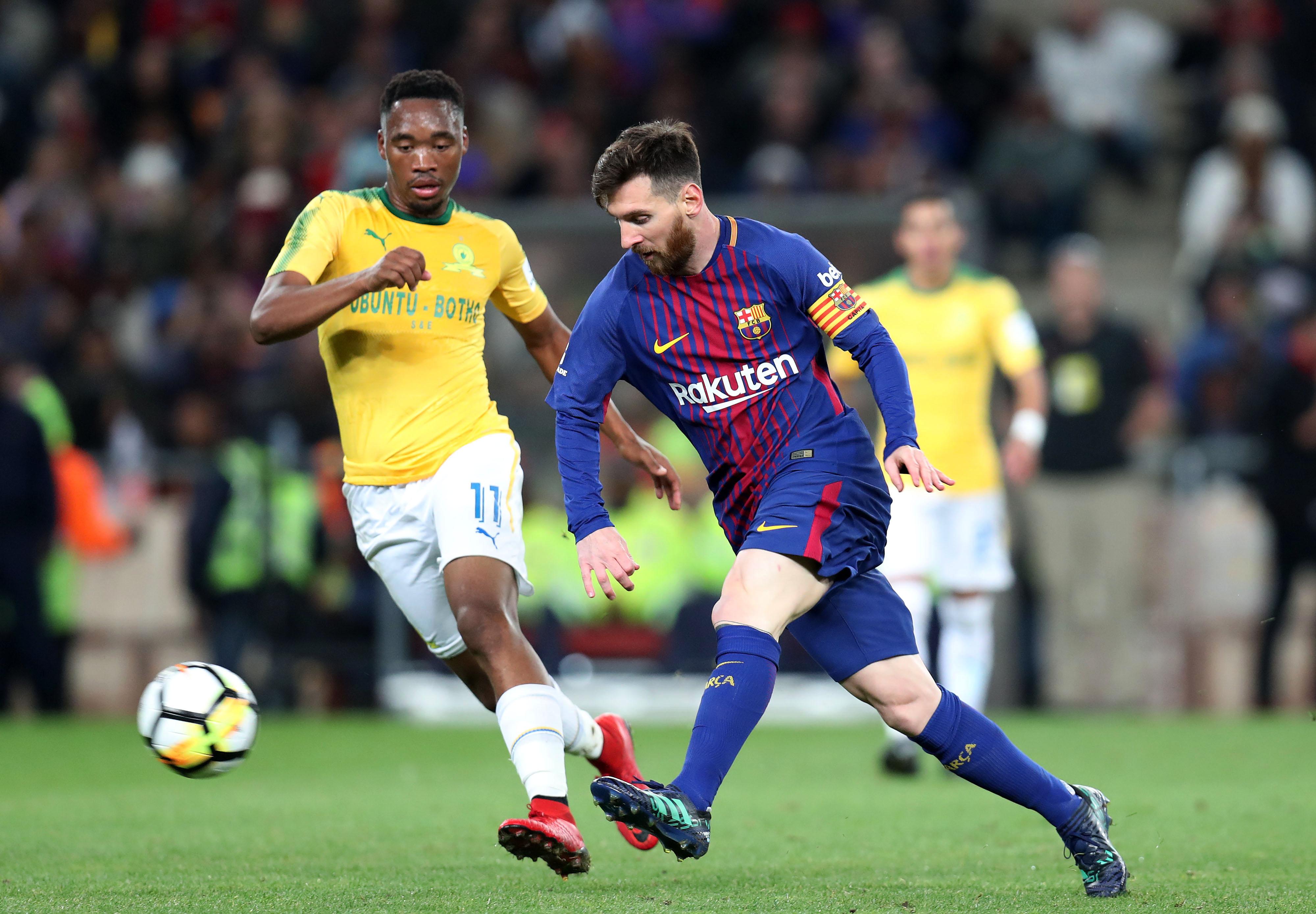 8c718eda7 Careless Sundowns defending helps Barcelona triumph