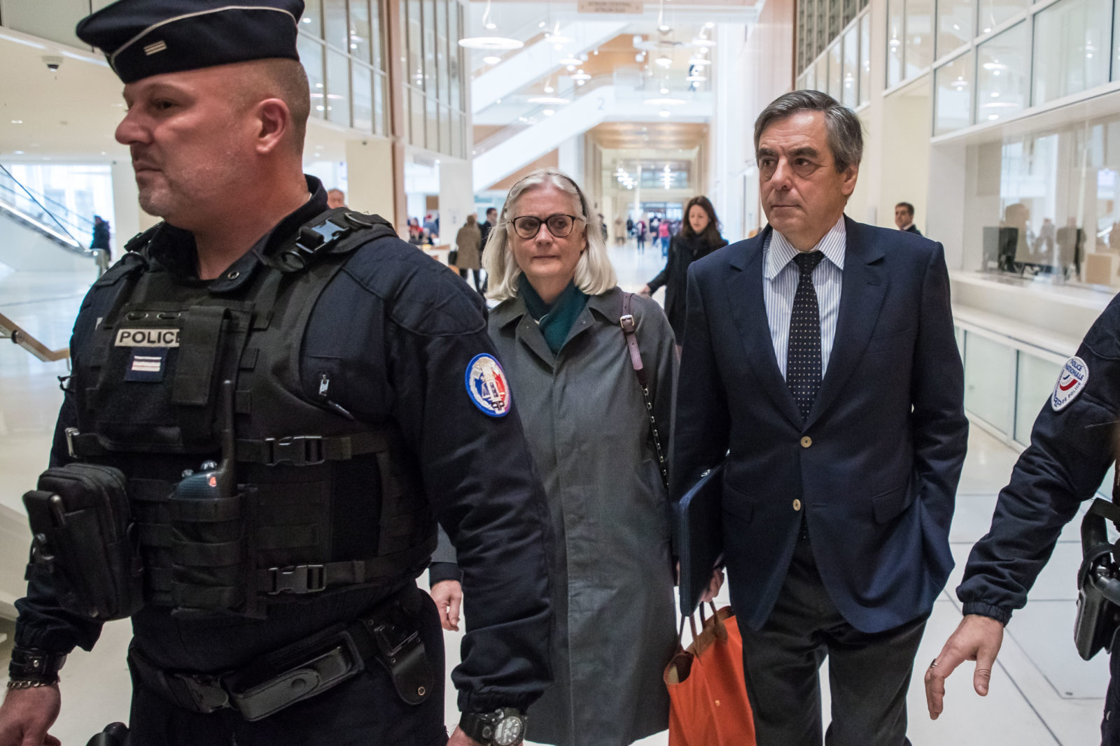 France's former prime minister Francois Fillon and his wife guilty of fraud