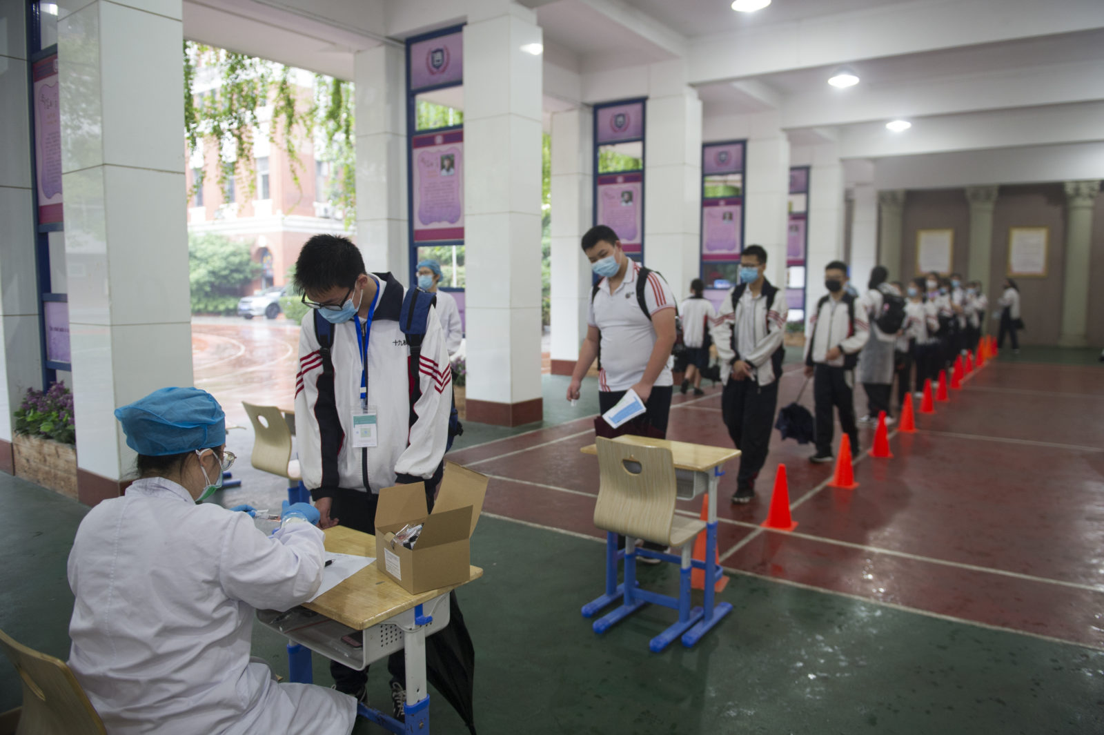 China: Wuhan tests almost 10M citizens in 10 days