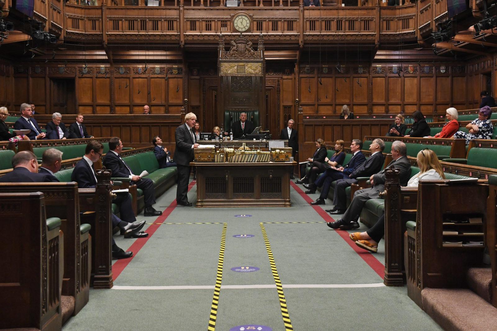 Boris Johnson apologises after he 'misspoke' on rule of six