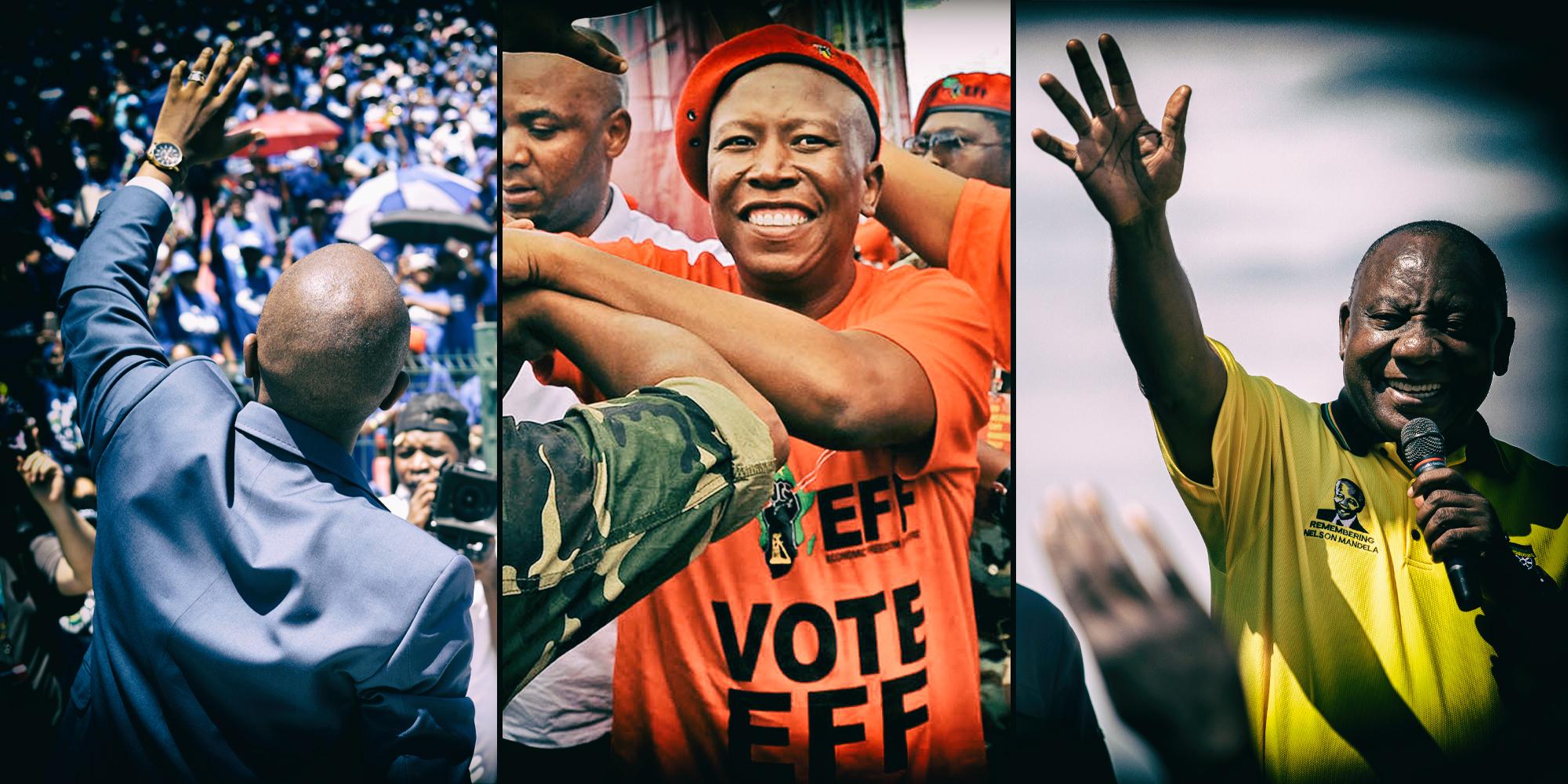 Malema is nou minder gewild as Zuma, Magashule aan die onderkant van die opname - Daily Maverick