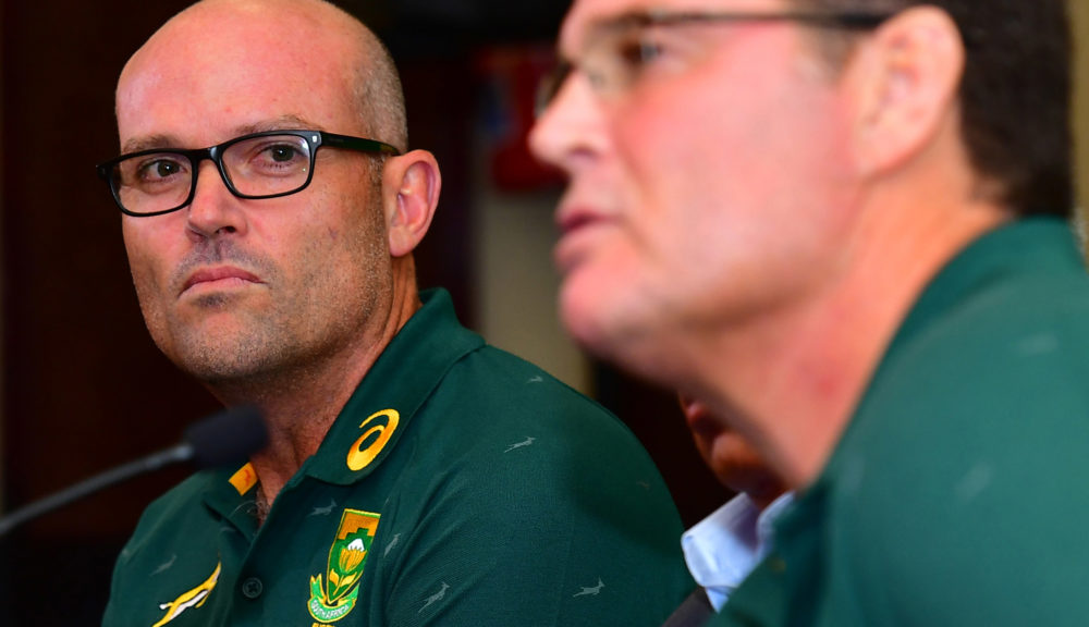 'Mechanic' Nienaber to coach Boks for next four years - Daily Maverick