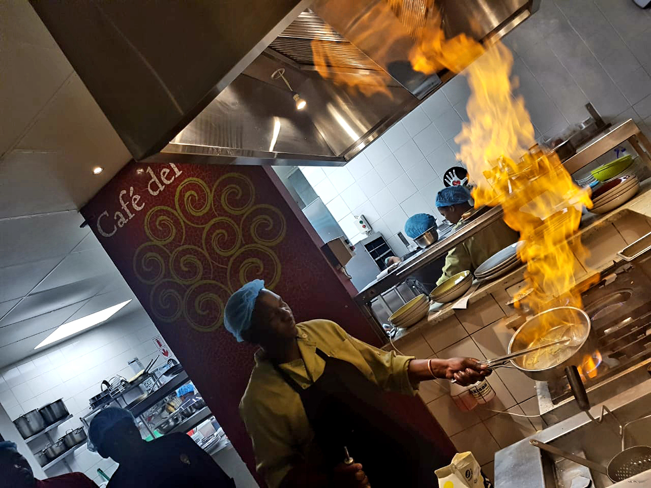 Cooking On Fire: When liquor ignites flavour