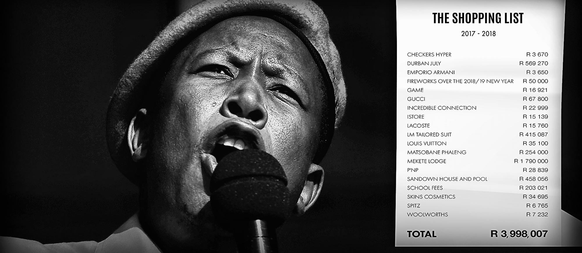 Agt belangrike wegneemetes uit die verhaal van 'Julius Malema's Time of Spending Dangerously' - Daily Maverick