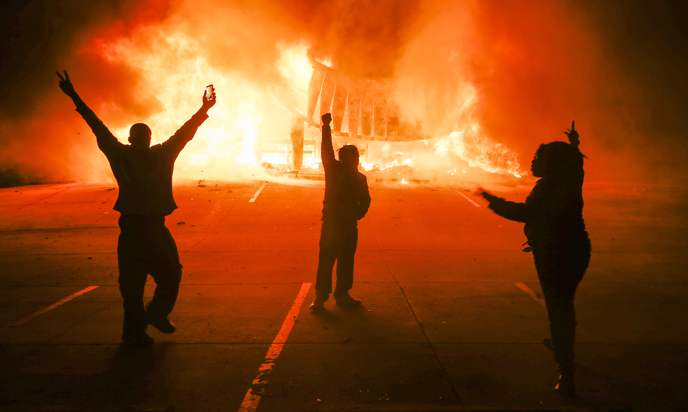 Ferguson burns, South Africa simmers: Why America is but a ...